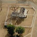 34th President of the USA - Dwight D. Eisenhower's birthplace (Birds Eye)