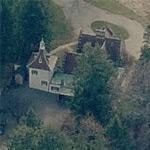 Washington Irving's house (former) (Birds Eye)