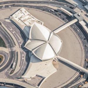 TWA Flight Center (Birds Eye)