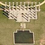 National Capitol Columns at the National Arboretum (Birds Eye)