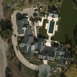 Kim Kardashian & Kanye West's House (Bing Maps)