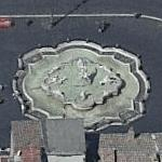 """Fontana del Nettuno"" Rome (Birds Eye)"