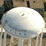 'MESQUITE T.E.X.A.S' Water Tower