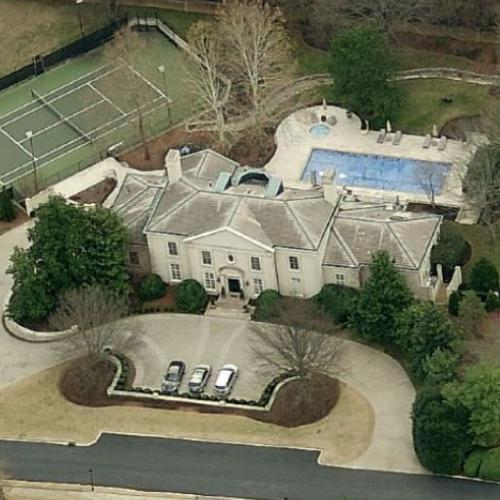 Keith Urban & Nicole Kidman's House (Birds Eye)