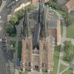 Uppsala Cathedral (Birds Eye)