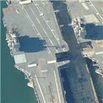 USS Forrestal, USS Saratoga (Birds Eye)