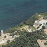 Lighthouse in Ancona (Birds Eye)