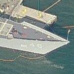 USS Rentz (FFG-46) (Birds Eye)