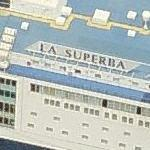 Grimaldi Lines Ship 'La Superba' (Birds Eye)