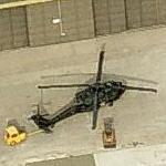 Iowa National Guard Blackhawk helicopter (Birds Eye)