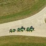 John Deere tractor test track & fields (Birds Eye)