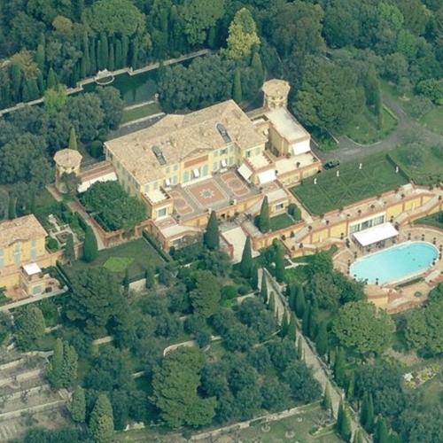 Lily Safra's House (Villa La Leopolda) (Birds Eye)