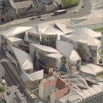 'Scottish Parliament Building' by EMBT (Birds Eye)