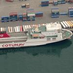 'M/F Ulysse' Compagnie Tunisienne de Navigation (CoTuNav)