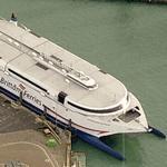 'HSC Normandie Express' Brittany Ferries (Birds Eye)