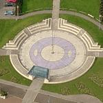 Gosport Time Space Sundial (Birds Eye)