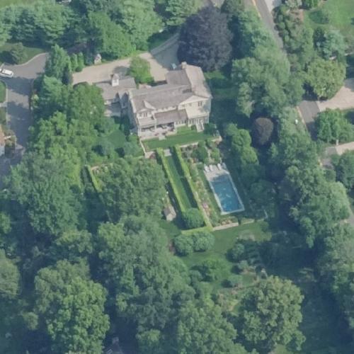 Martha Stewart's House (former) (Birds Eye)