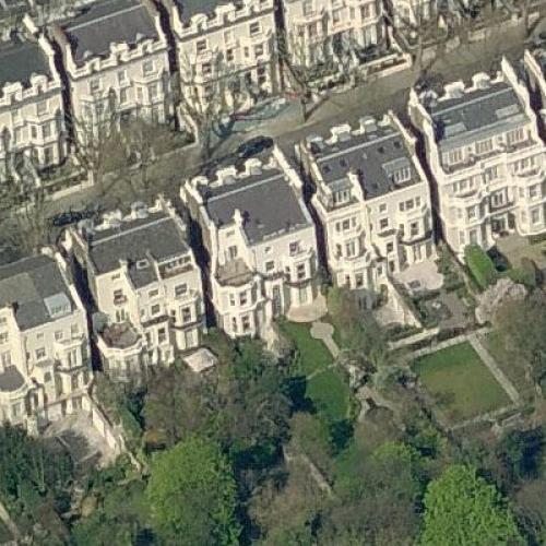 Richard Branson's House in London, United Kingdom (Google