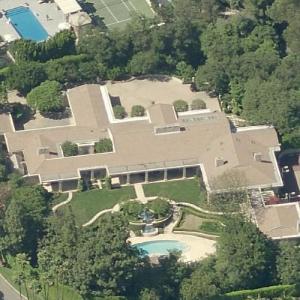 Joanna Carson's house (Bing Maps)