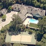Elvis Presley's house (former) (Birds Eye)