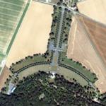 Belleau Wood battlefield & memorial (Bing Maps)