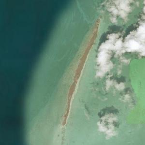 Leonardo DiCaprio's private island (Bing Maps)