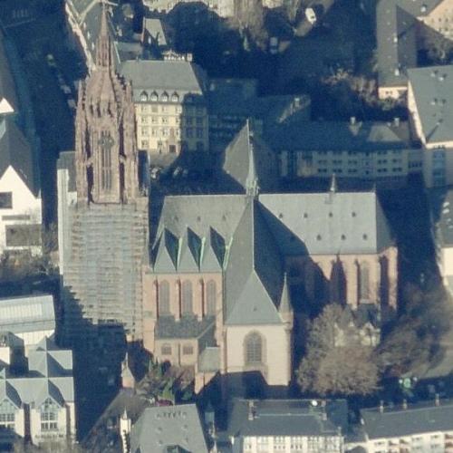 Frankfurt Cathedral (Birds Eye)