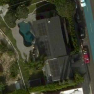 Nick Cassavetes' House (Bing Maps)
