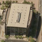 'Phoenix Central Library' by Will Bruder and Wendell Burnette (Birds Eye)