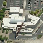 'Las Vegas Library and Lied Discovery Museum' by Antoine Predock (Birds Eye)
