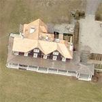 Rafael Vinoly's house (Birds Eye)