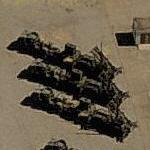 Patriot Missile launchers (Birds Eye)