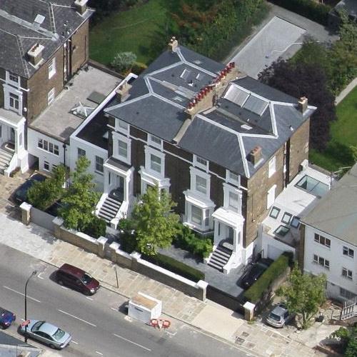 Gwyneth Paltrow and Chris Martin's House (Birds Eye)