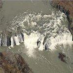 Cohoes Falls (Birds Eye)