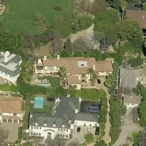 Miley Cyrus' House (former) (Birds Eye)
