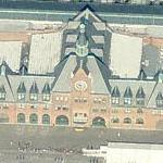Central Railroad of New Jersey Terminal (aka Communipaw Terminal) (Birds Eye)