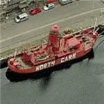 Lightship 'North Carr' (Birds Eye)