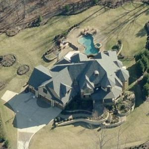 Bill Cowher's House (Former) (Birds Eye)