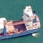 Cargo ship (Birds Eye)