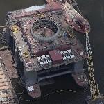 "CS-50 Plattform ""Moss Sirius"" (Sea-based X-band Radar) (Birds Eye)"