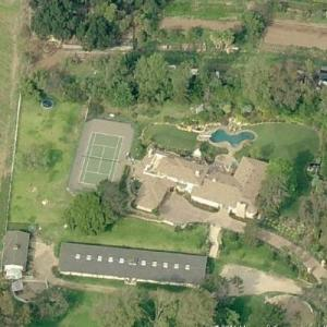 Alan Thicke's House (Deceased) (Birds Eye)
