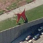 'Eagle' by Alexander Calder (Bing Maps)