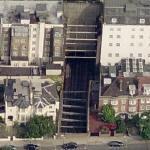 Dummy houses @23/24 Leinster Gardens, Paddington, London W2 (Birds Eye)