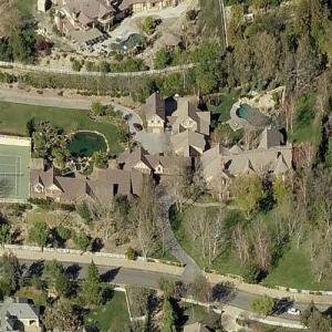 Joseph Englanoff's lot (previously Britney Spears' rental) (Birds Eye)