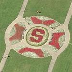 """S"" at the Oval at Stanford University"