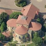 Memorial Church at Stanford University (Birds Eye)