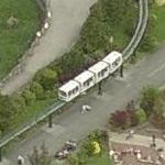 Chester Zoo Monorail (Birds Eye)