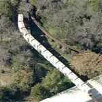 Dallas Zoo Monorail (Birds Eye)
