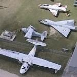 "PBY ""Catalina"", Douglas AD-5 ""Skyraider"", Douglas A-4 ""Skyhawk"", Convair F-102 ""Delta Dagger"""