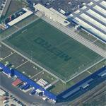 Soccer field on the roof (Birds Eye)